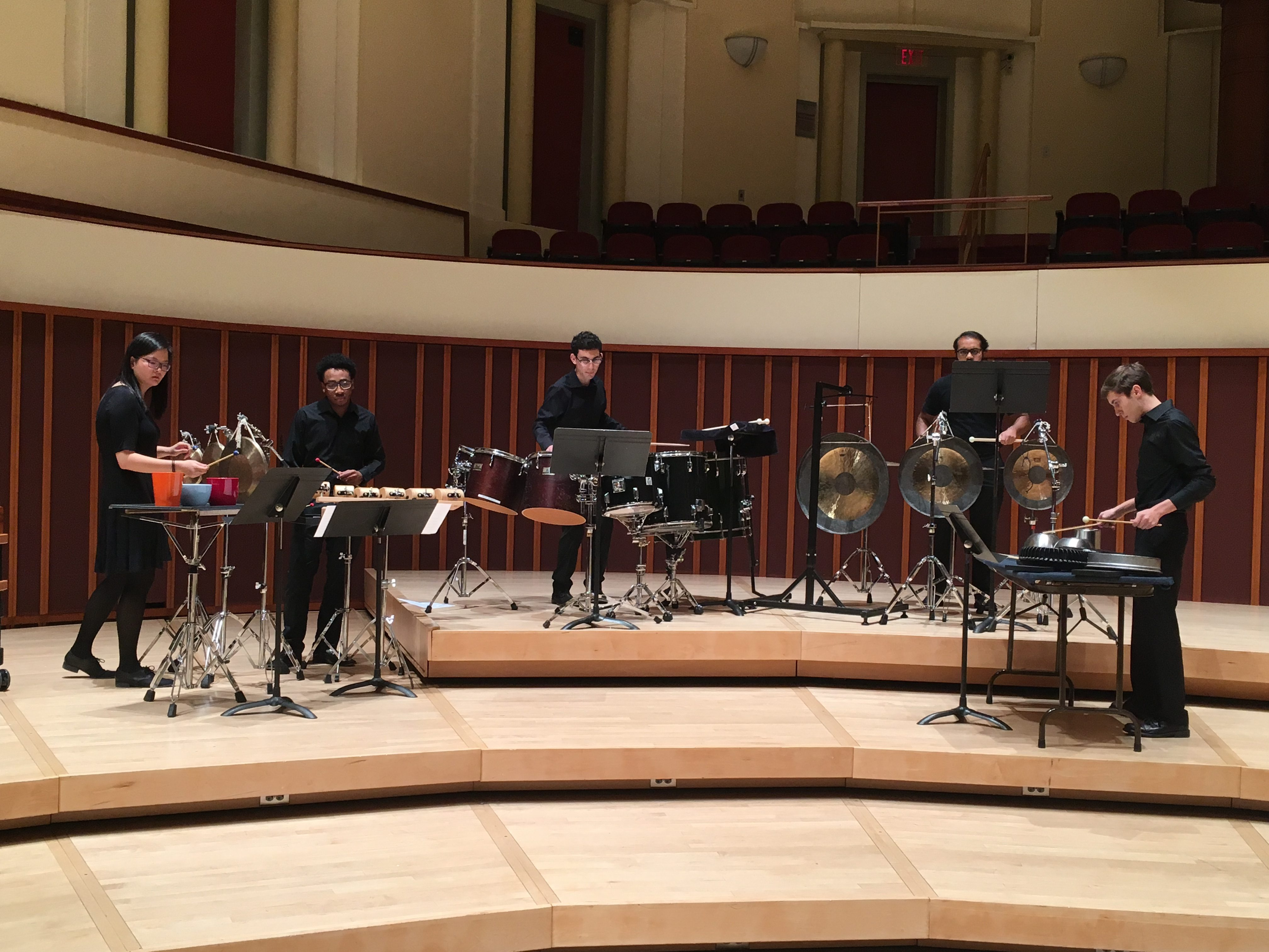 Emory Percussion – Emory Wind Ensemble